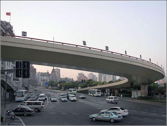 上海的立交桥