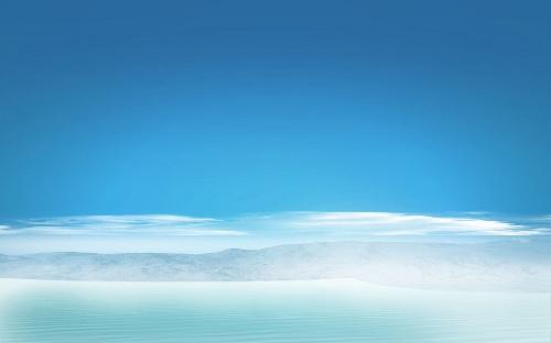 蓝色中国风素材