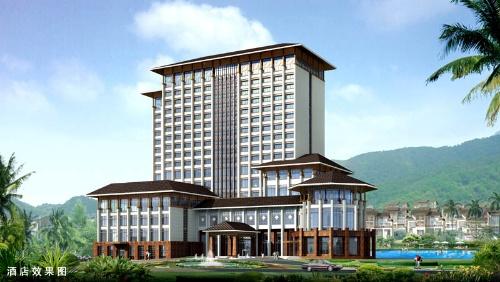 《中式建筑的一次探讨》--中式酒店与别墅设计图片
