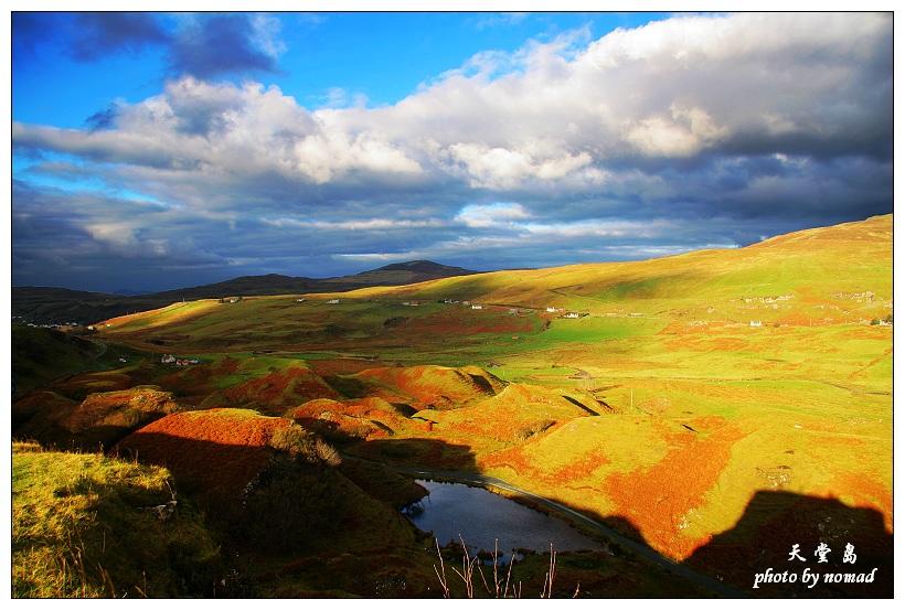 然后穿越令人神往的蘇格蘭高地上的高山峽谷