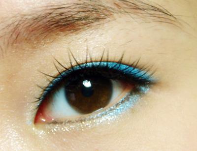 眼影颜色搭配和画法;