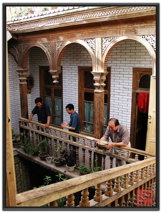 塔塔尔族建筑高清图片