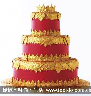 欧式婚礼蛋糕!喜欢死啦!瓦卡卡