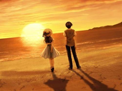 情侣背影头像两个人