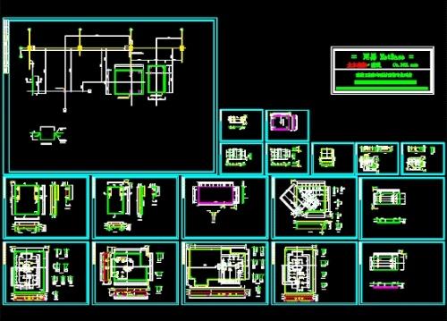 电梯电机7.8kw6-24级72槽接线图