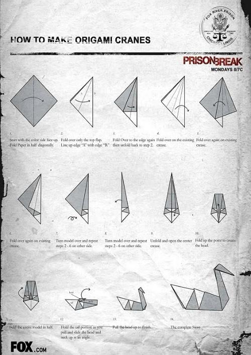 千纸鹤折法(附pb大鸭子)