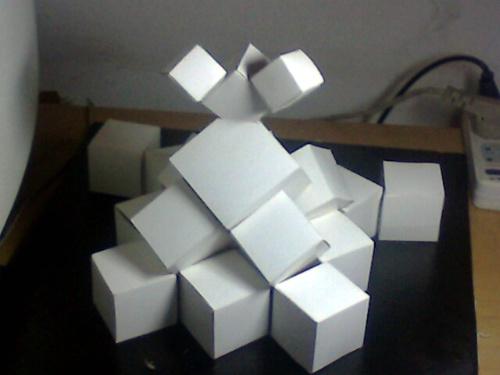 我的立体构成作业-我就是我-我的搜狐