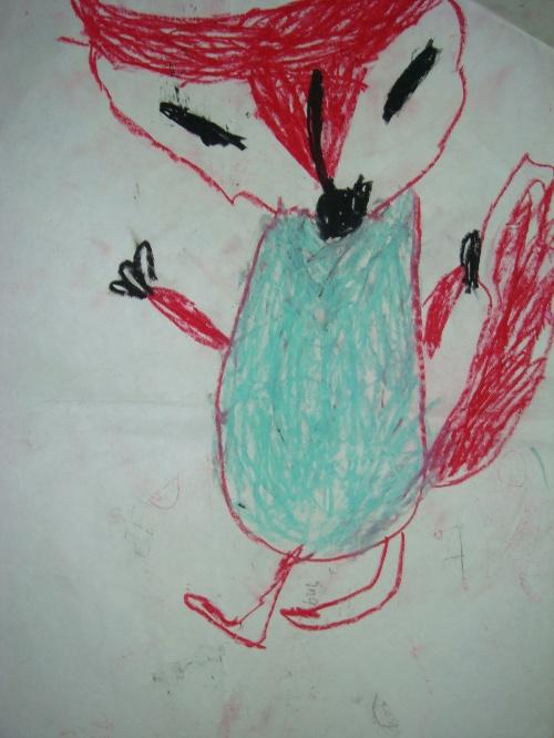 小鸟 和我简笔画小猫彩色的鱼