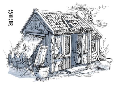 最近游戏里设定的小房子