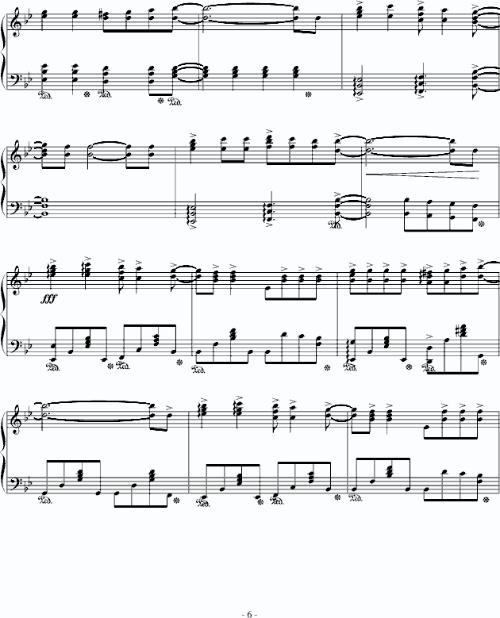 八键琴乐谱儿童两只老虎-名侦探柯南钢琴曲谱