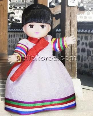 我可喜欢这些可爱的韩国小人偶了