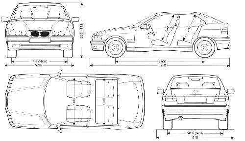 汽车手绘立面图
