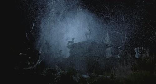 宇宙城堡简笔画彩色