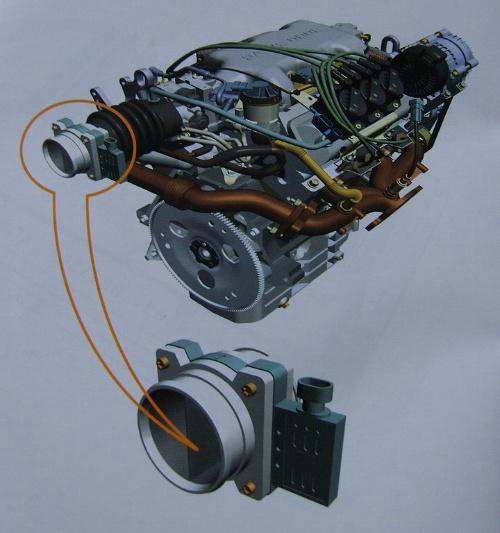 机油位置传感器.汽车电控系统 电子控制汽油喷射系统 2 传感器高清图片