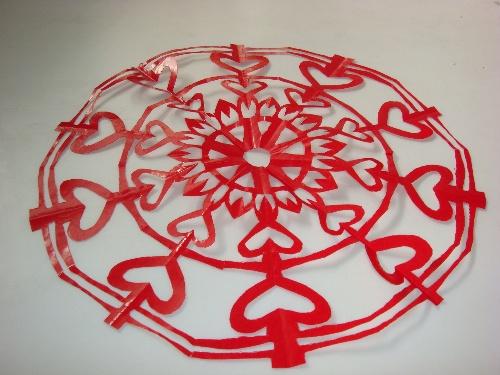 儿童剪纸天鹅步骤图片