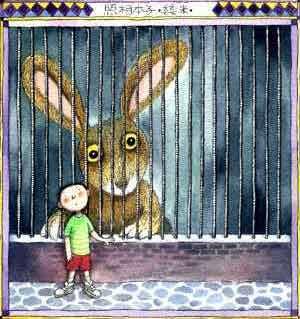 我喜爱的小动物 小兔子