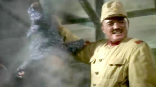 日军第十六师团团长中岛今朝吾率部进入国民政府