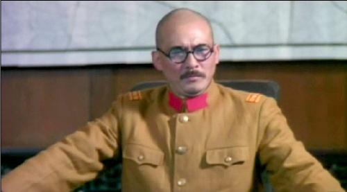 日军第十六师团团长中岛今朝吾率部进入国民政府.