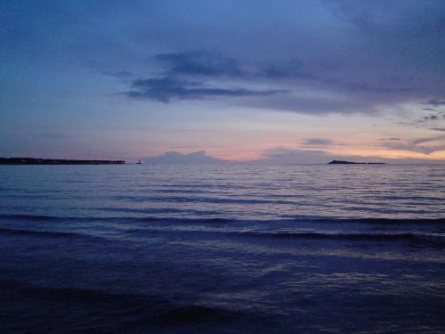海南三亚生活摄影三:夕阳