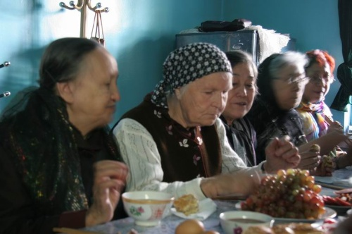 新疆拍摄花絮 - 俄罗斯族
