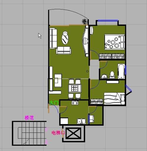 造两间三层楼房设计图