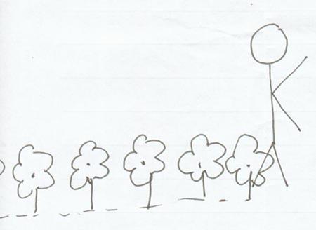 玫瑰简笔画的画法步骤美术