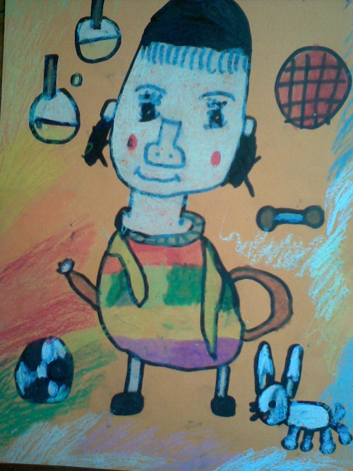 人物头像---画画我的同学(一)-露露公主的城堡-搜狐