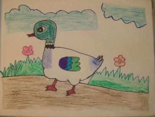 6岁时的画,儿童简笔画