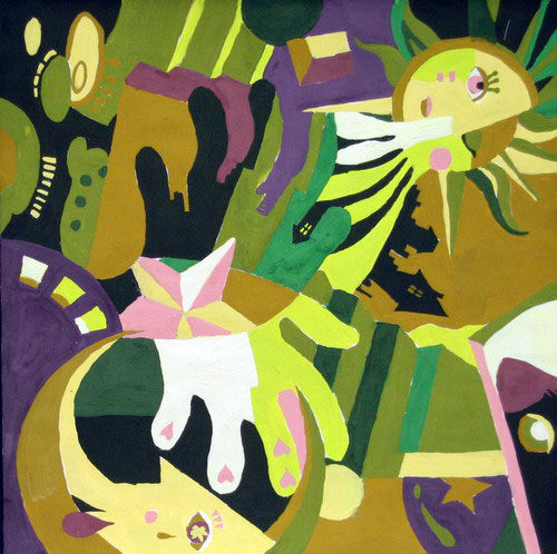 鲁迅美术学院大连校区创意素描,创意色彩,创意图案作品选