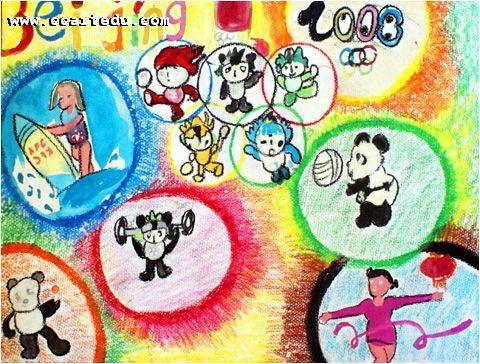 和平儿童画作品欣赏_儿童画作品欣赏