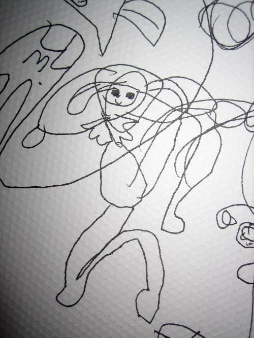 简笔画 手绘 线稿 500_666 竖版 竖屏