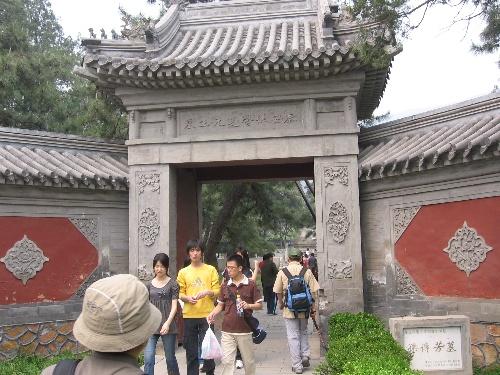 植物园里的孙传芳墓