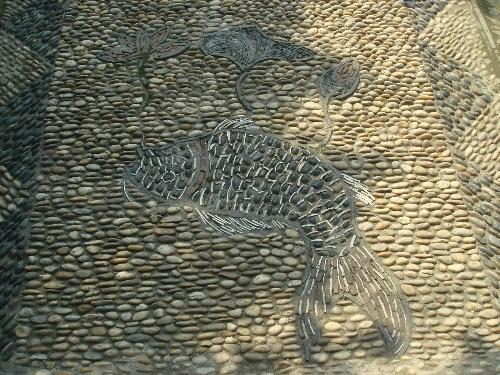 曼陀罗手绘石